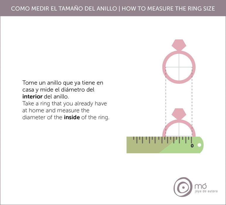 How to measure the ring size