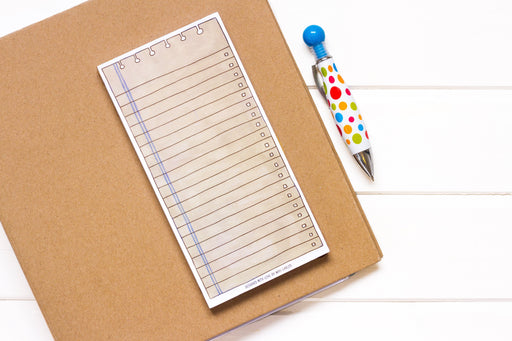Taupe Notepad
