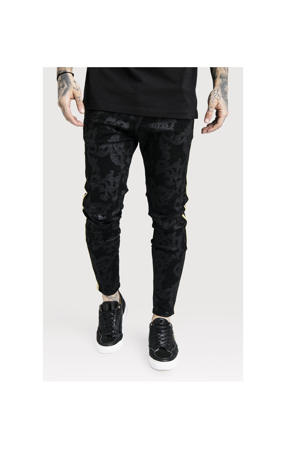 SikSilk x Dani Alves Low Rise Skinny Denims - Black (2)