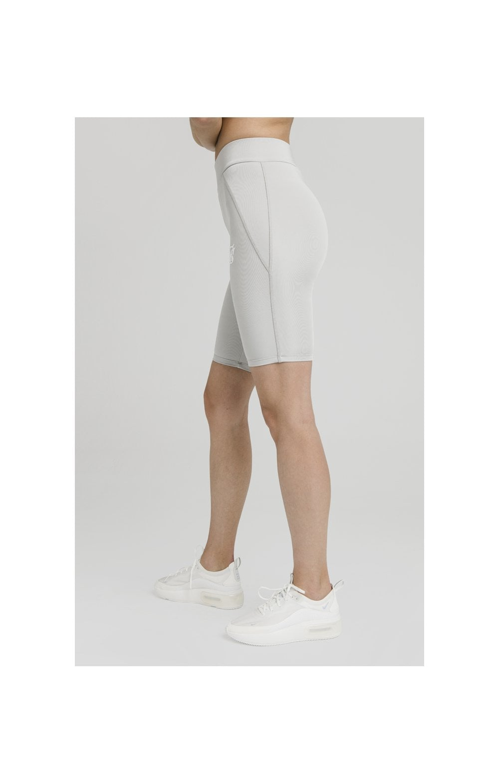 SikSilk Disco Short de Cyclisme - Argenté (5)