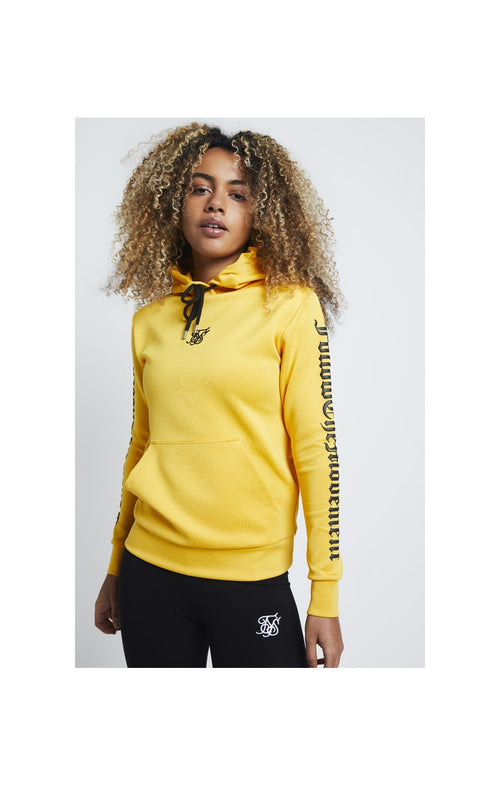 SikSilk Sweat à Capuche à Texte