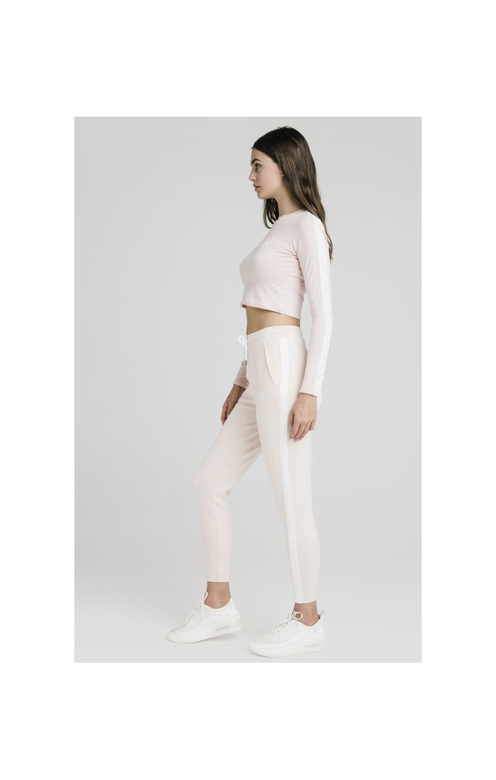 SikSilk Tape Track Pants - Cloud Pink (3)