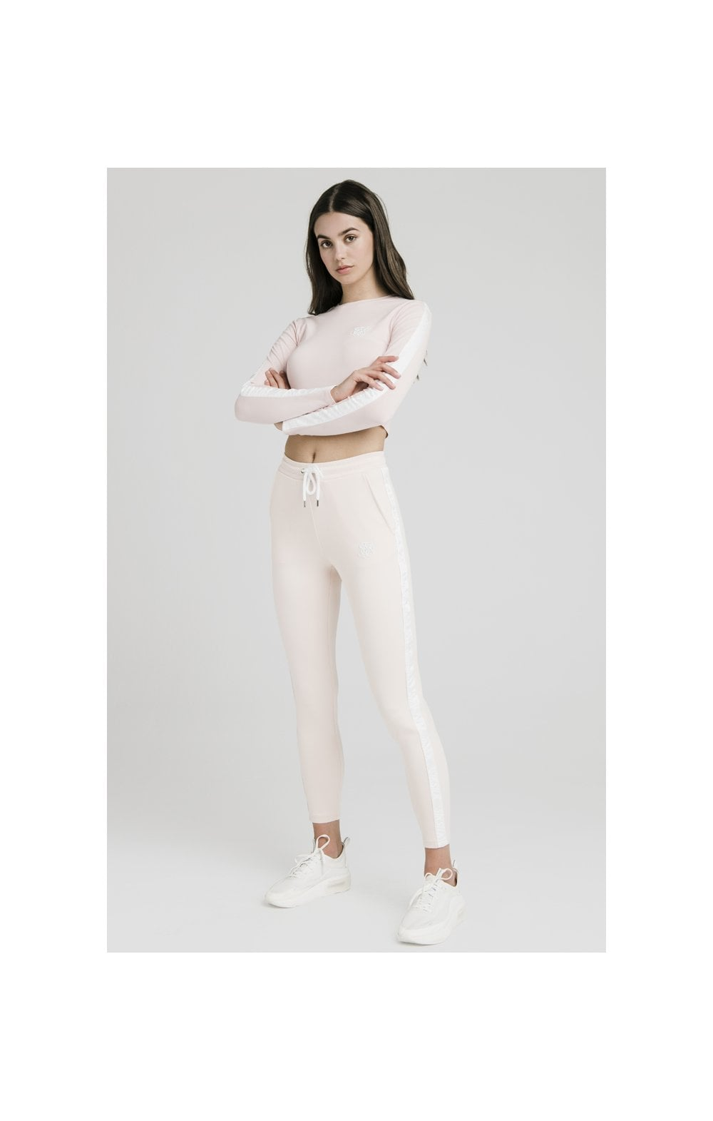 SikSilk Tape Track Pants - Cloud Pink (4)