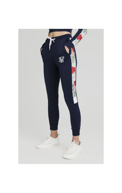 SikSilk Tropical Print Track Pants – Eclipse