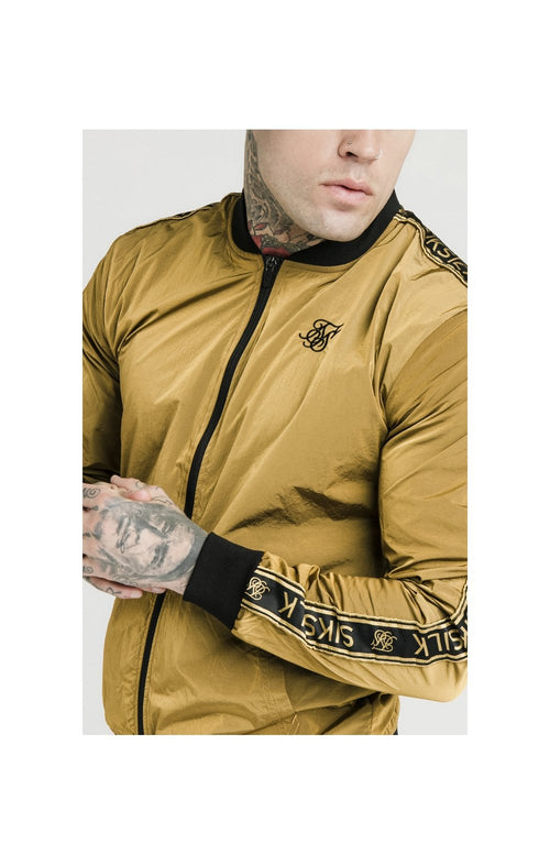 SikSilk Bomber en Nylon - Moutarde Doré