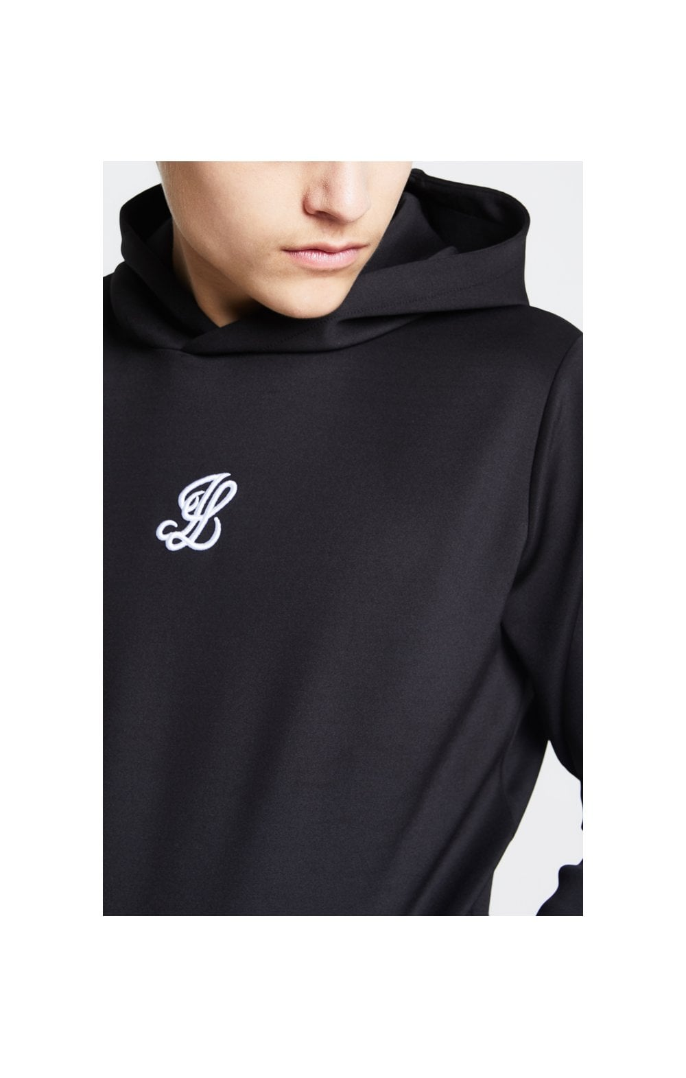 Illusive London Taped Overhead Hoodie - Black