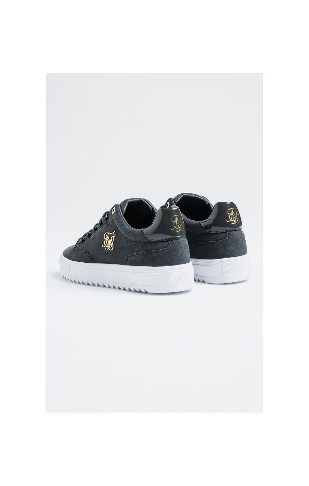 SikSilk Element Anaconda Chaussures Baskets en Suède - Gris (2)