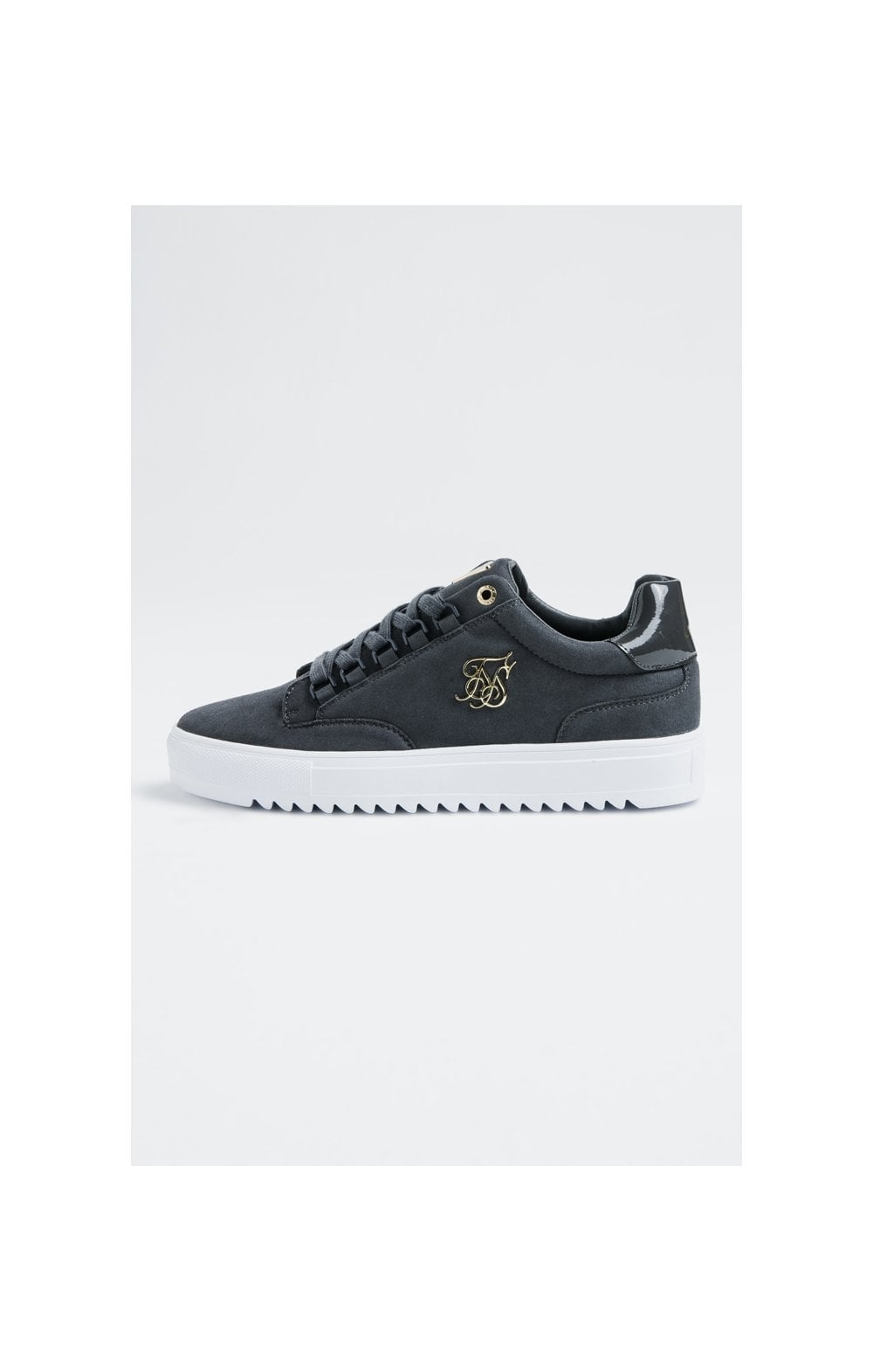 SikSilk Element Anaconda Chaussures Baskets en Suède - Gris