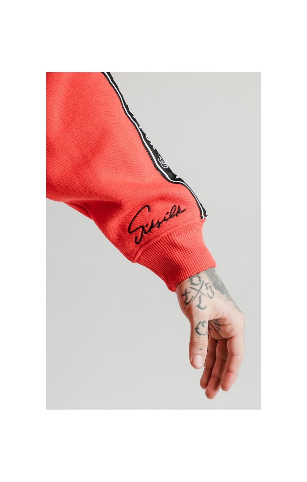 SikSilk x FaZe Apex Sweat à Capuche - Rouge (3)