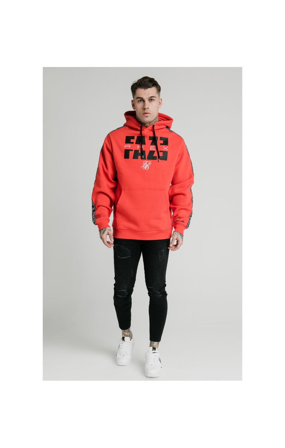 SikSilk x FaZe Apex Sweat à Capuche - Rouge (5)