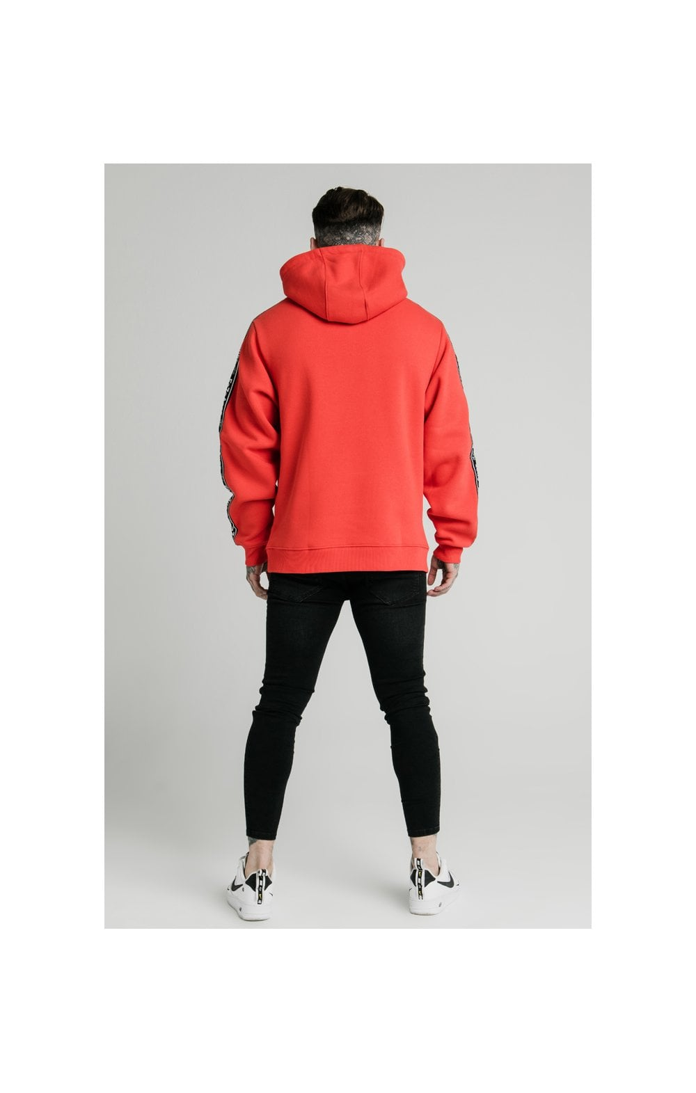 SikSilk x FaZe Apex Sweat à Capuche - Rouge (6)