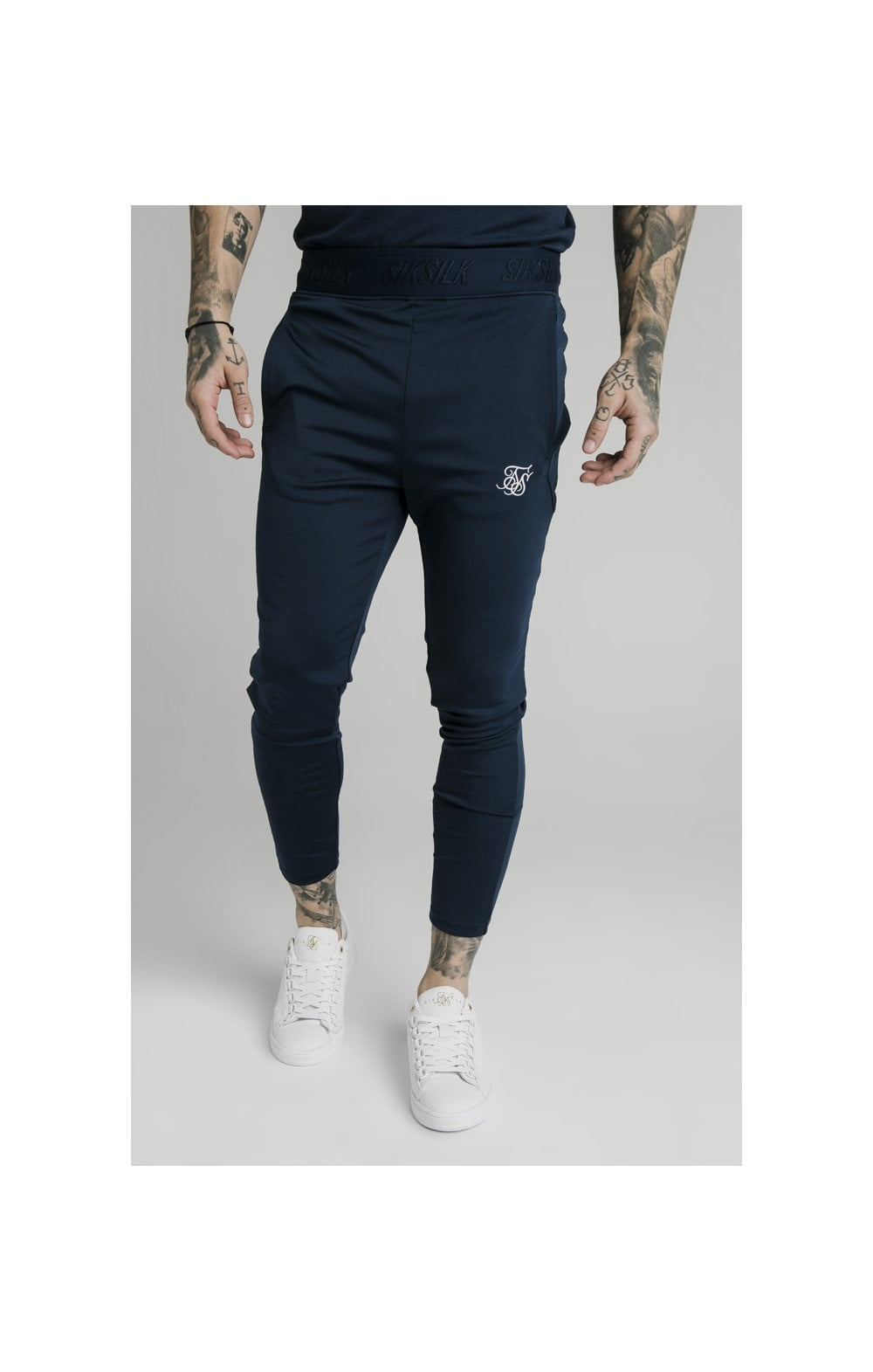 SikSilk Agility Track Pants - Navy (1)