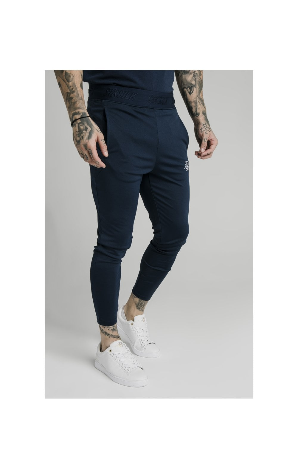 SikSilk Agility Track Pants - Navy (2)