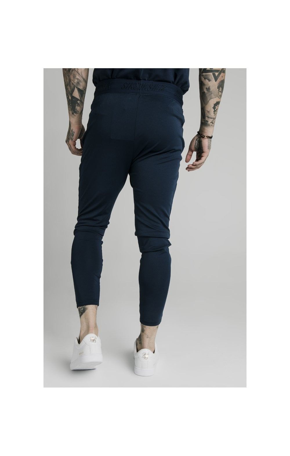 SikSilk Agility Track Pants - Navy (3)