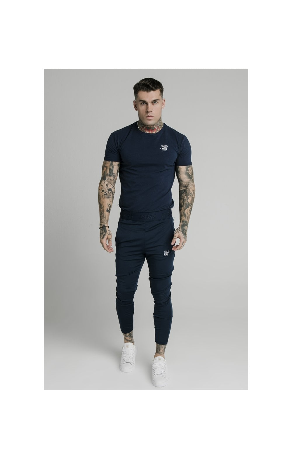 SikSilk Agility Track Pants - Navy (4)