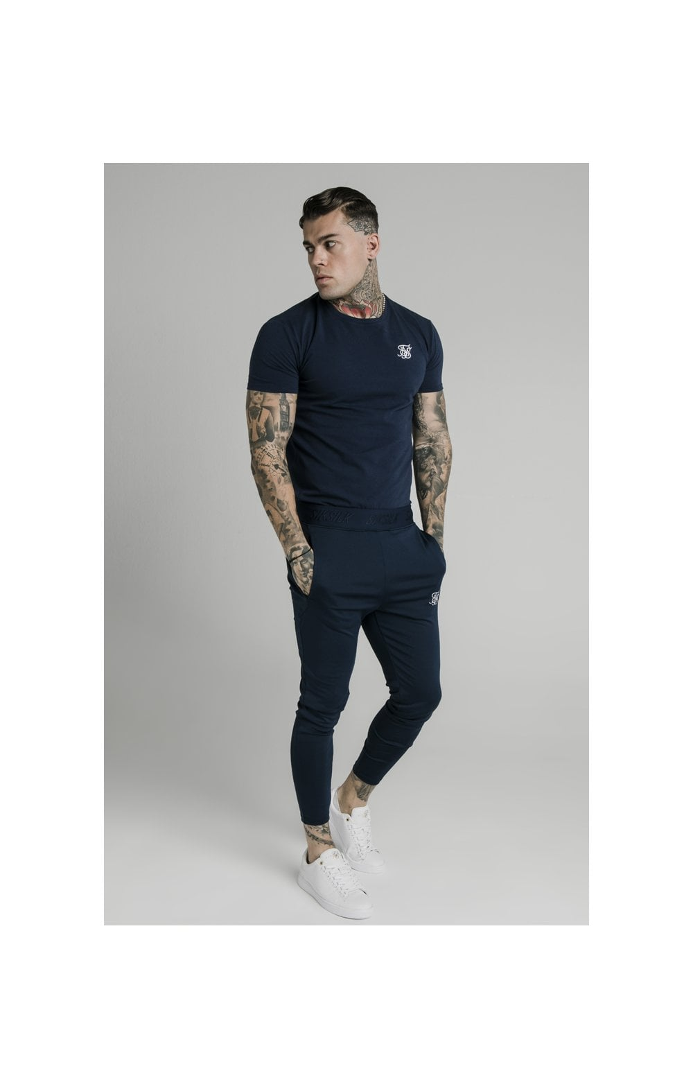 SikSilk Agility Track Pants - Navy (5)