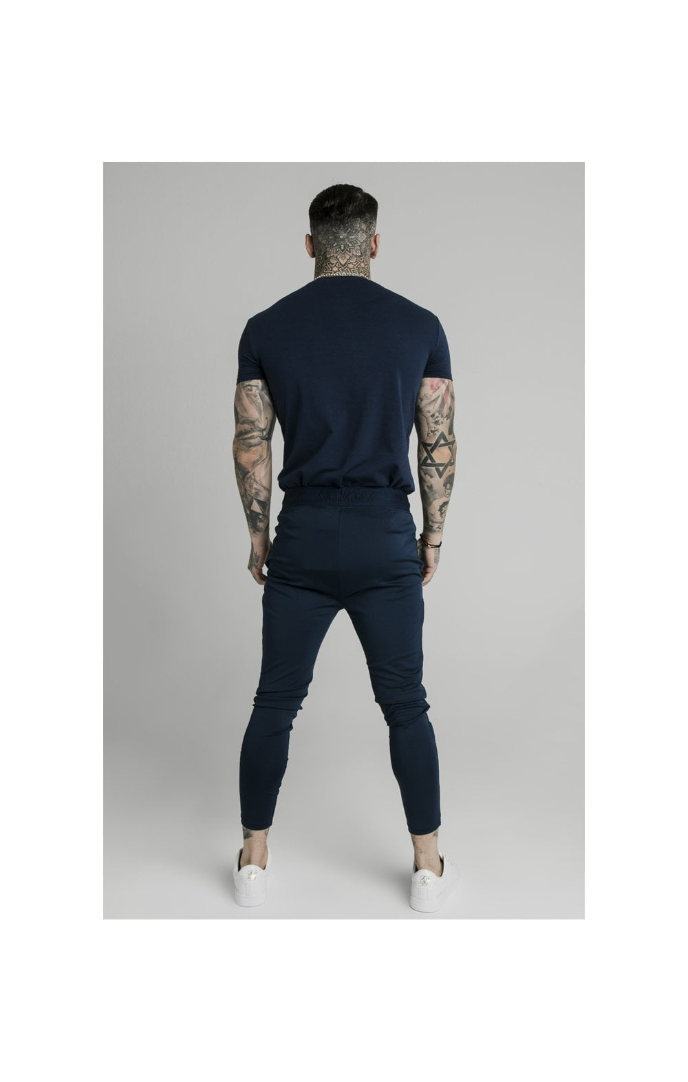 SikSilk Agility Track Pants - Navy (6)