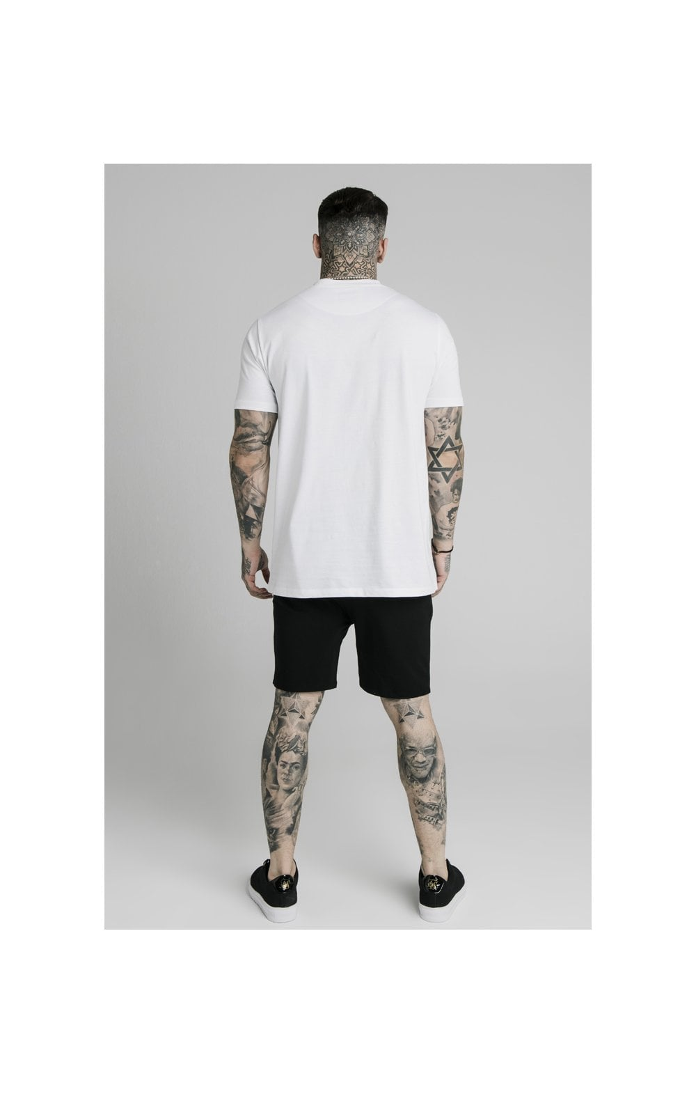 SikSilk Jersey Shorts - Black (4)