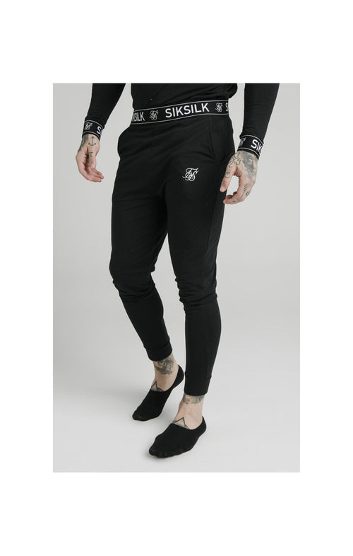 SikSilk Lounge Pants – Black