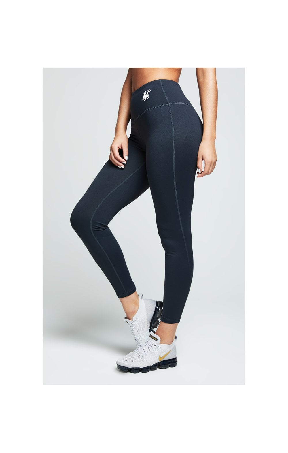 SikSilk Gym Leggings – Charcoal (1)