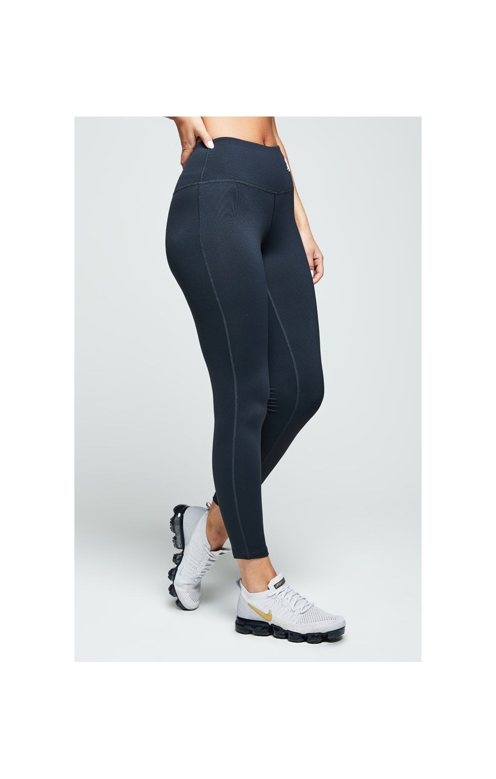 SikSilk Gym Leggings – Charcoal (4)