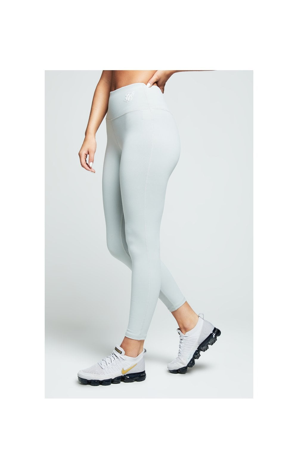 SikSilk Gym Leggings – Grey (1)