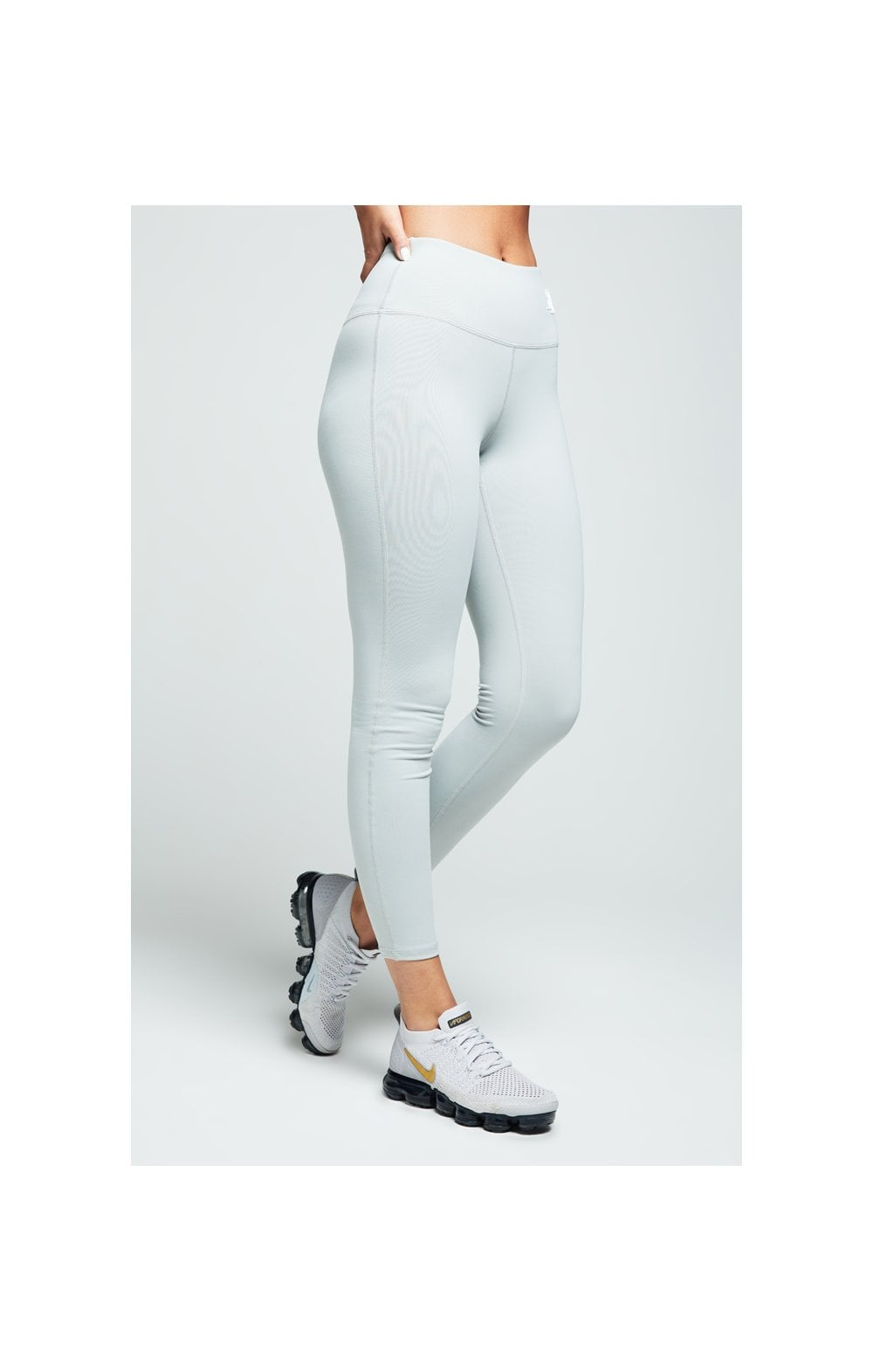 SikSilk Gym Leggings – Grey (2)