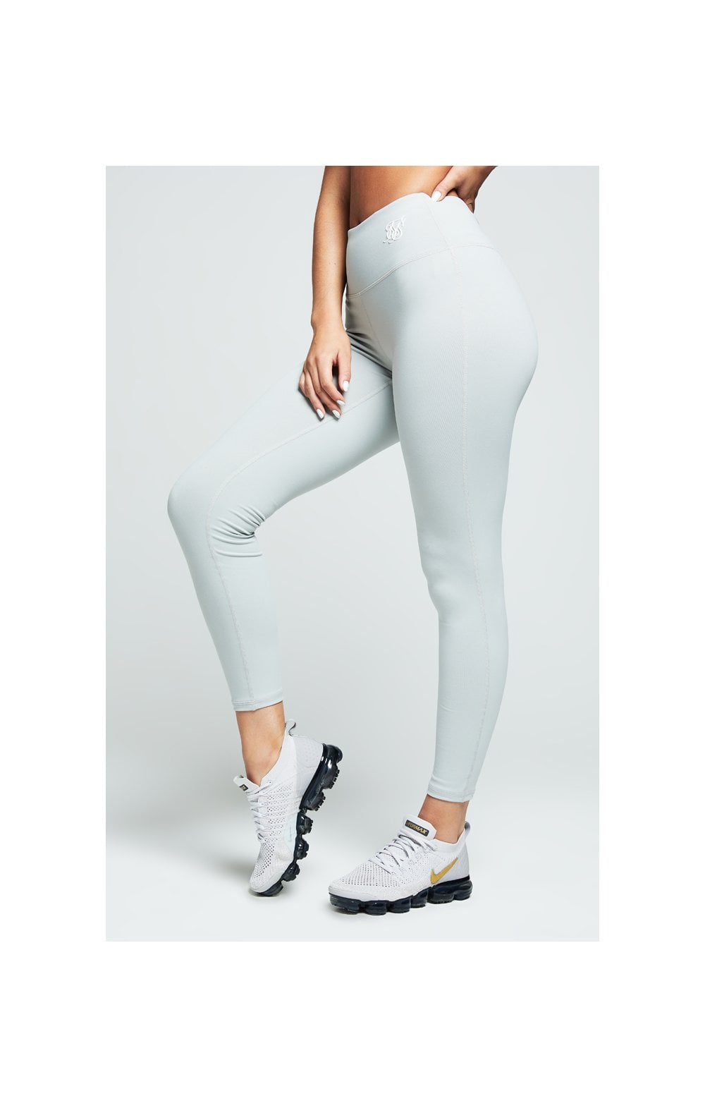SikSilk Gym Leggings – Grey (3)