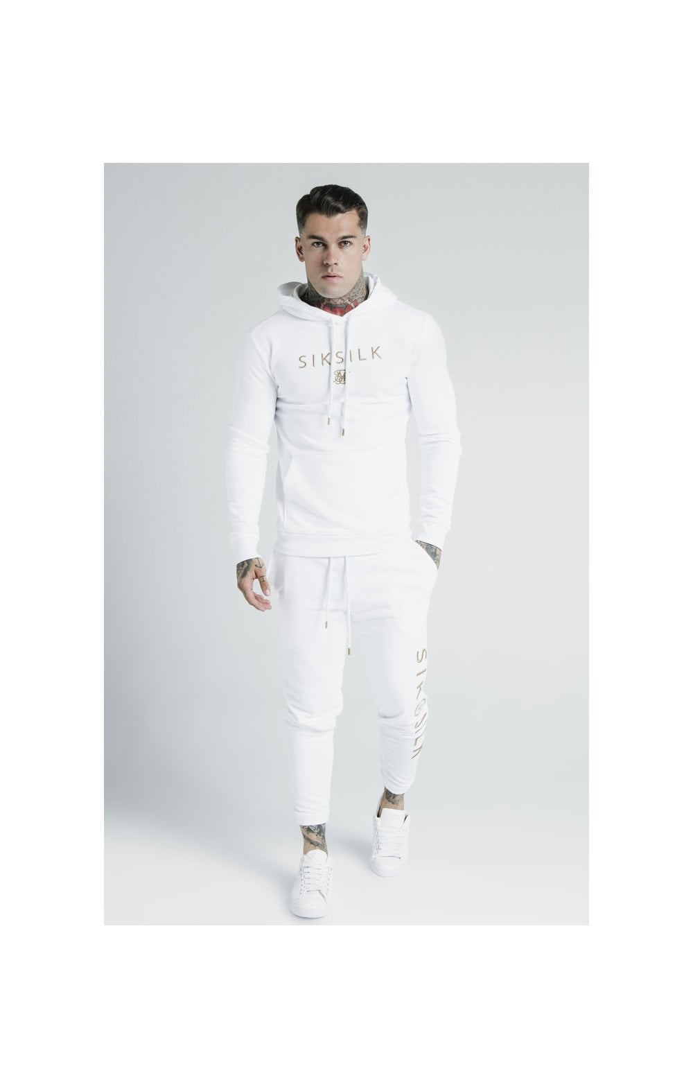 SikSilk x Dani Alves Sweat à Capuche - Blanc (5)