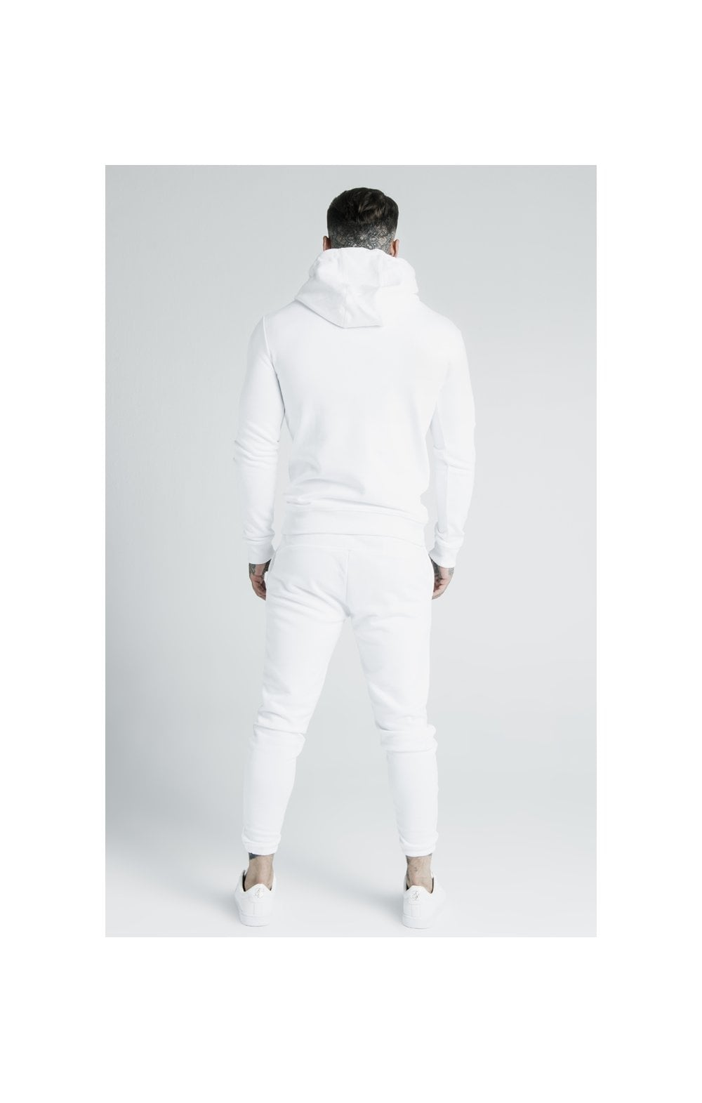 SikSilk x Dani Alves Sweat à Capuche - Blanc (9)