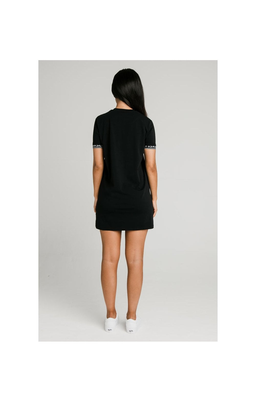 SikSilk Core Tech T-Shirt Dress Black (3)