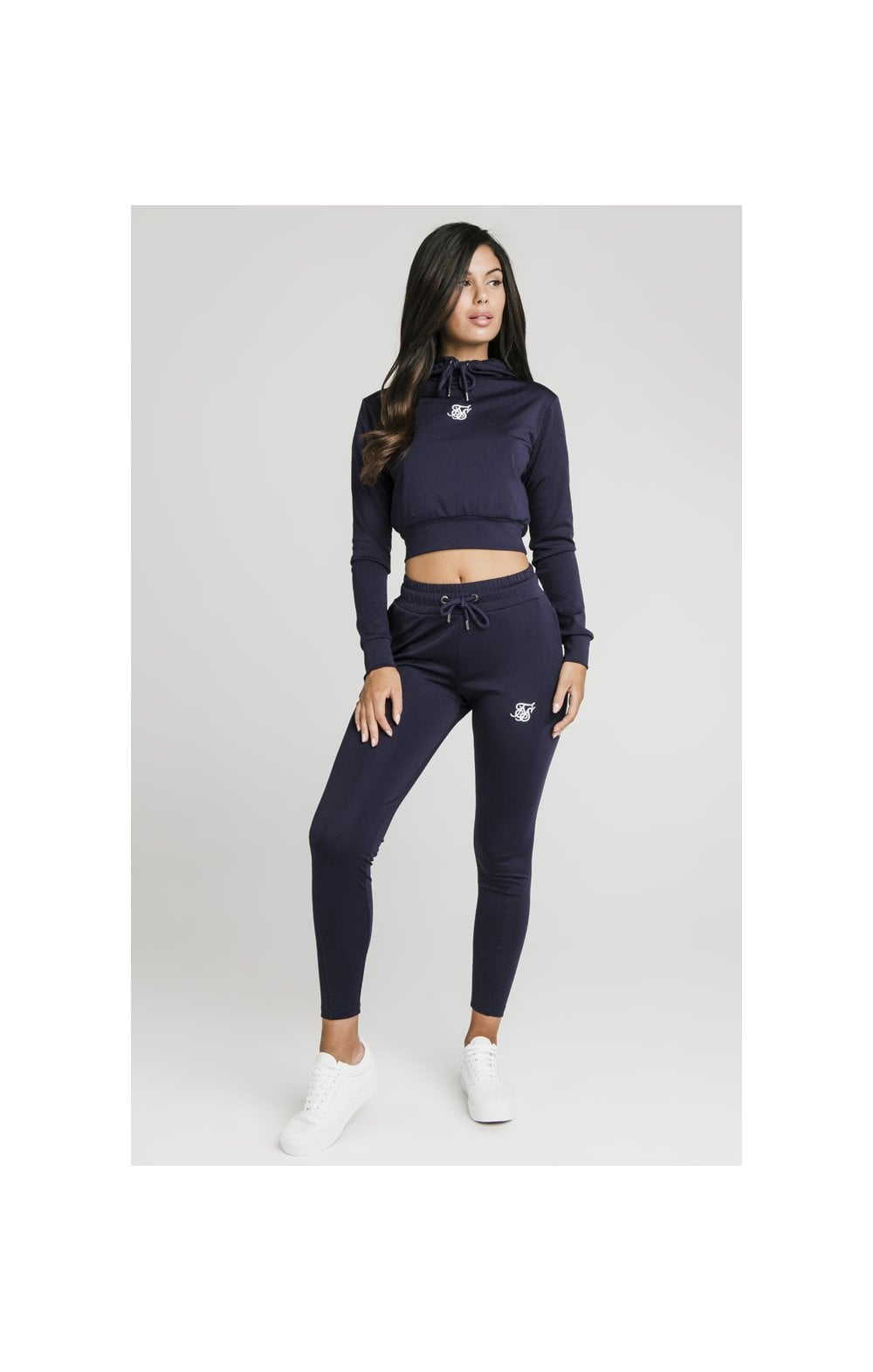 SikSilk Zonal Track Top - Navy (3)