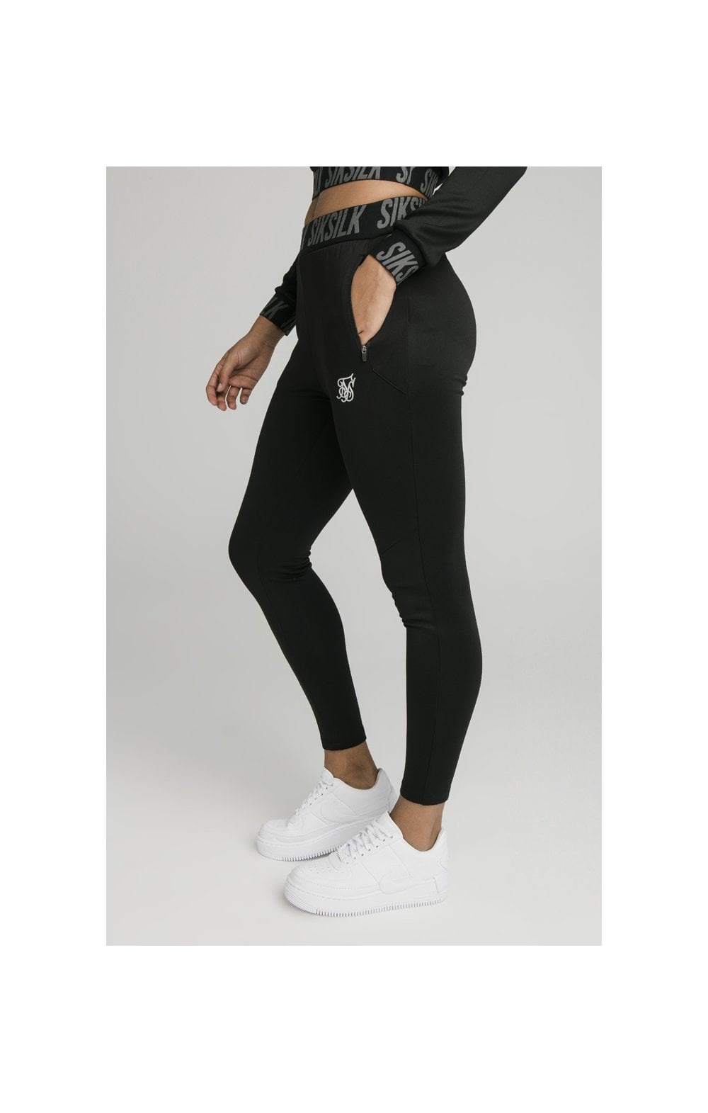 SikSilk Zonal Track Pants Black (2)
