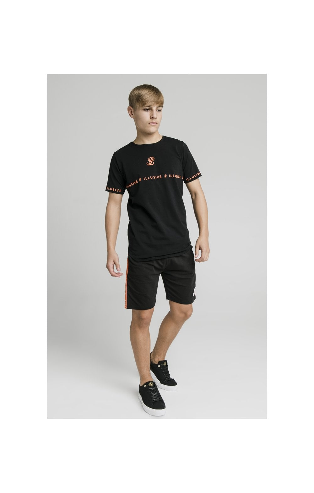 Illusive London Tape Tee - Black (3)