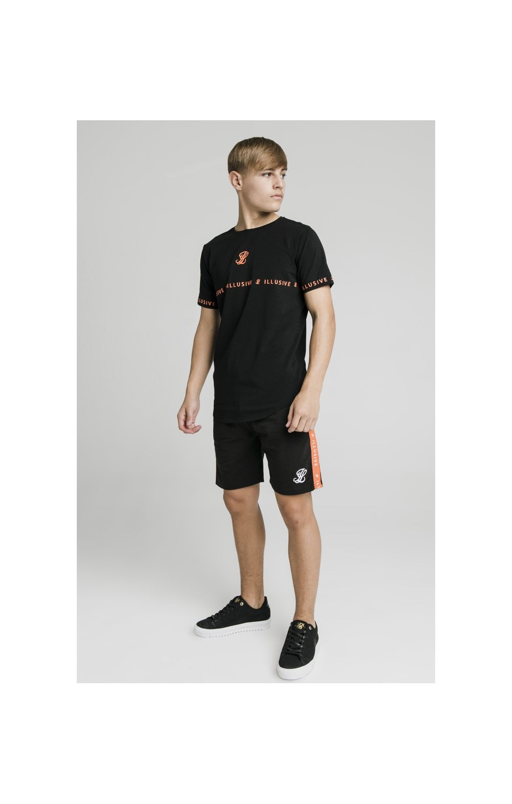 Illusive London Tape Tee - Black (4)