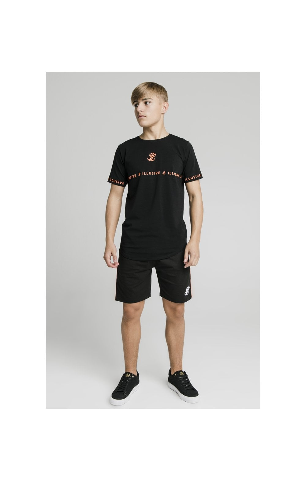 Illusive London Tape Tee - Black (5)
