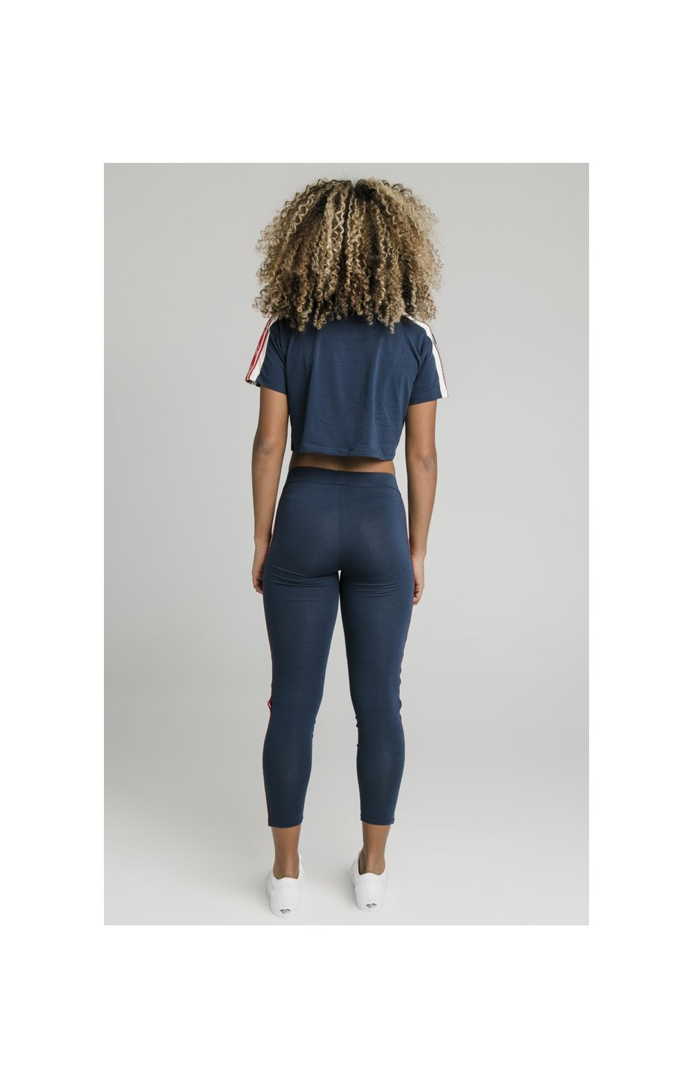SikSilk Classic Tape Leggings - Navy (9)