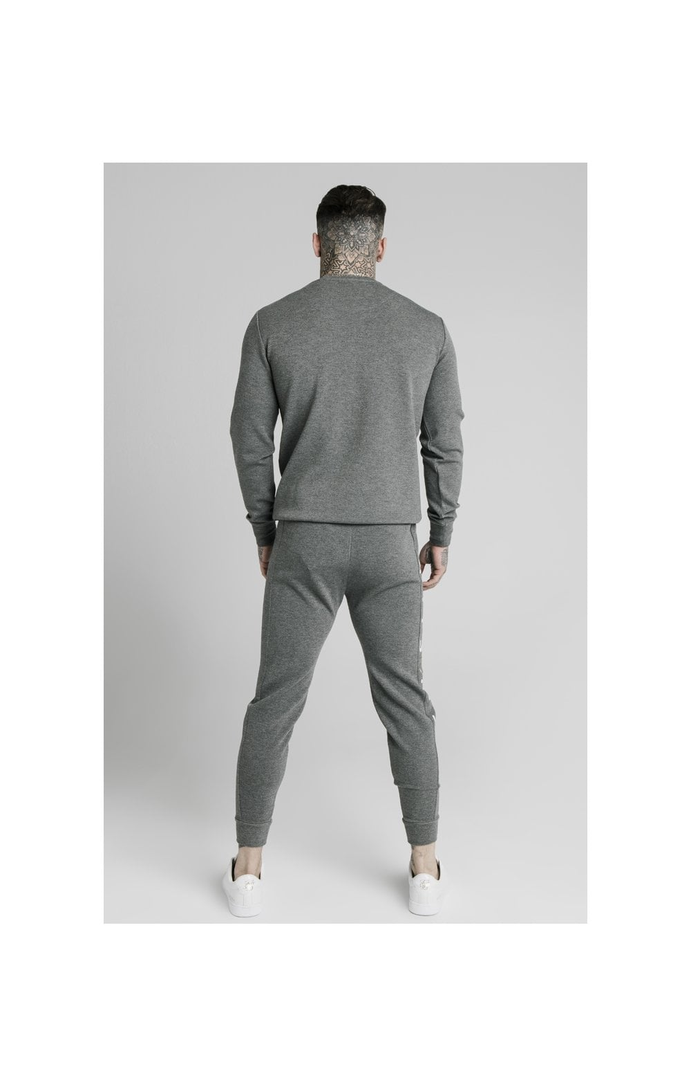 SikSilk Signature Sweater - Grey (4)