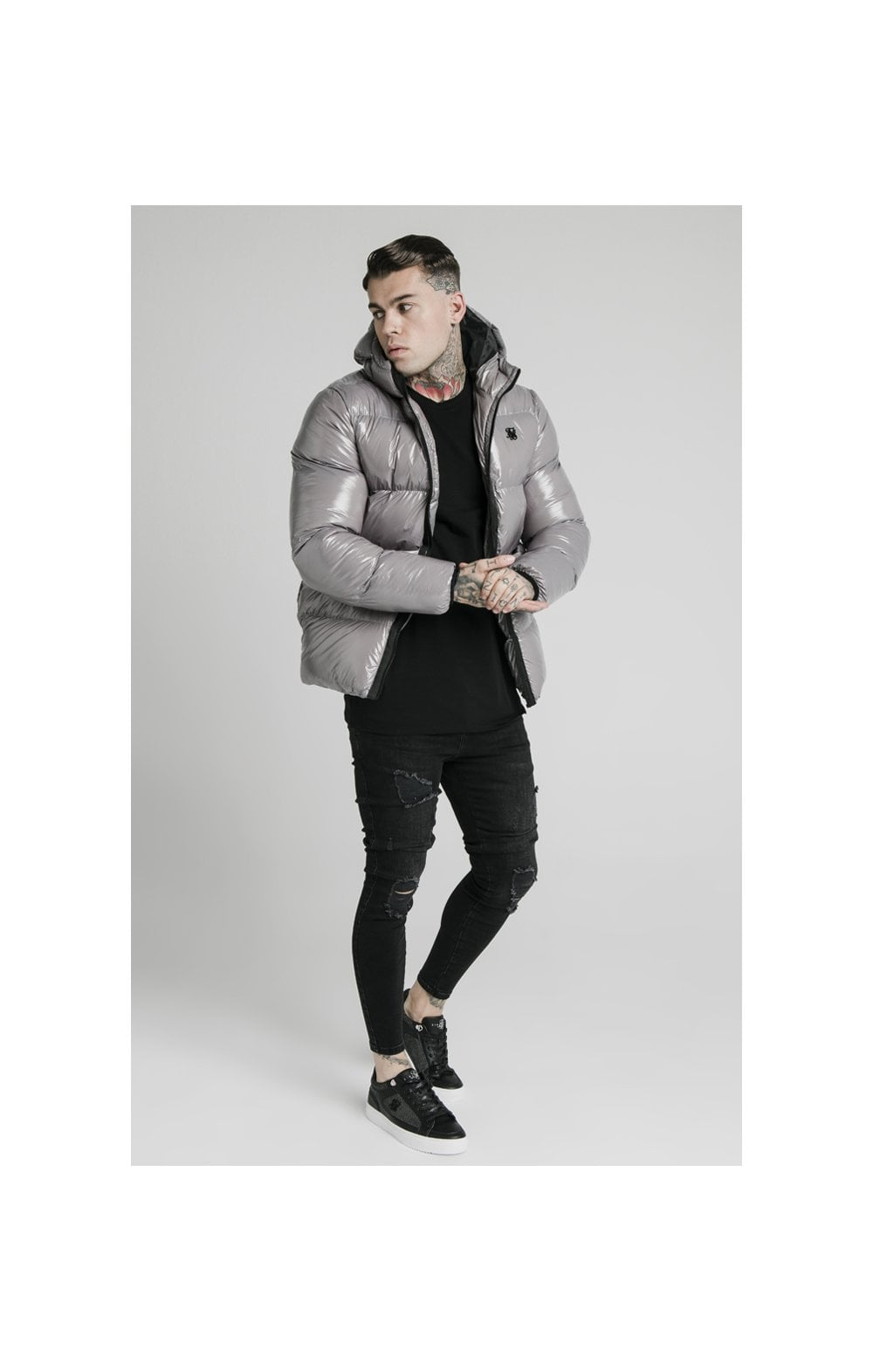 SikSilk Adapt Jacket - Dark Grey