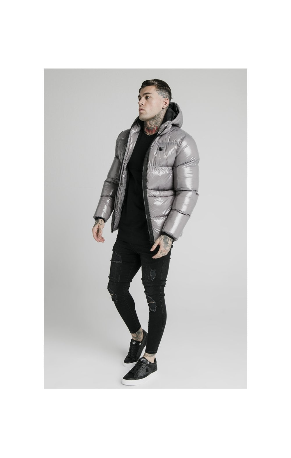 SikSilk Adapt Jacket - Dark Grey (2)