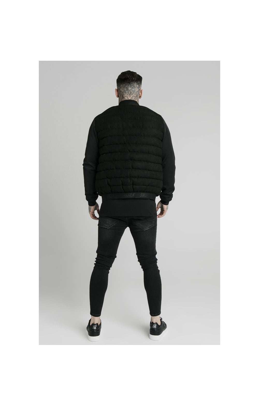 SikSilk Storm Bubble Jacket - Black (4)