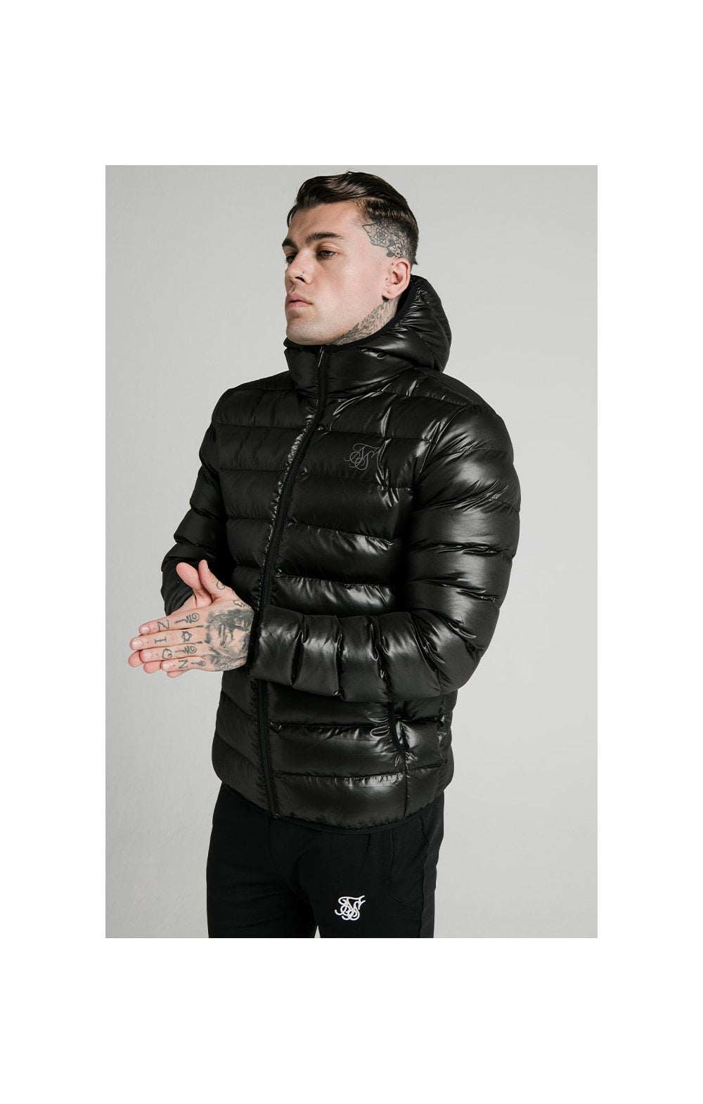 SikSilk Atmosphere Jacket - Black
