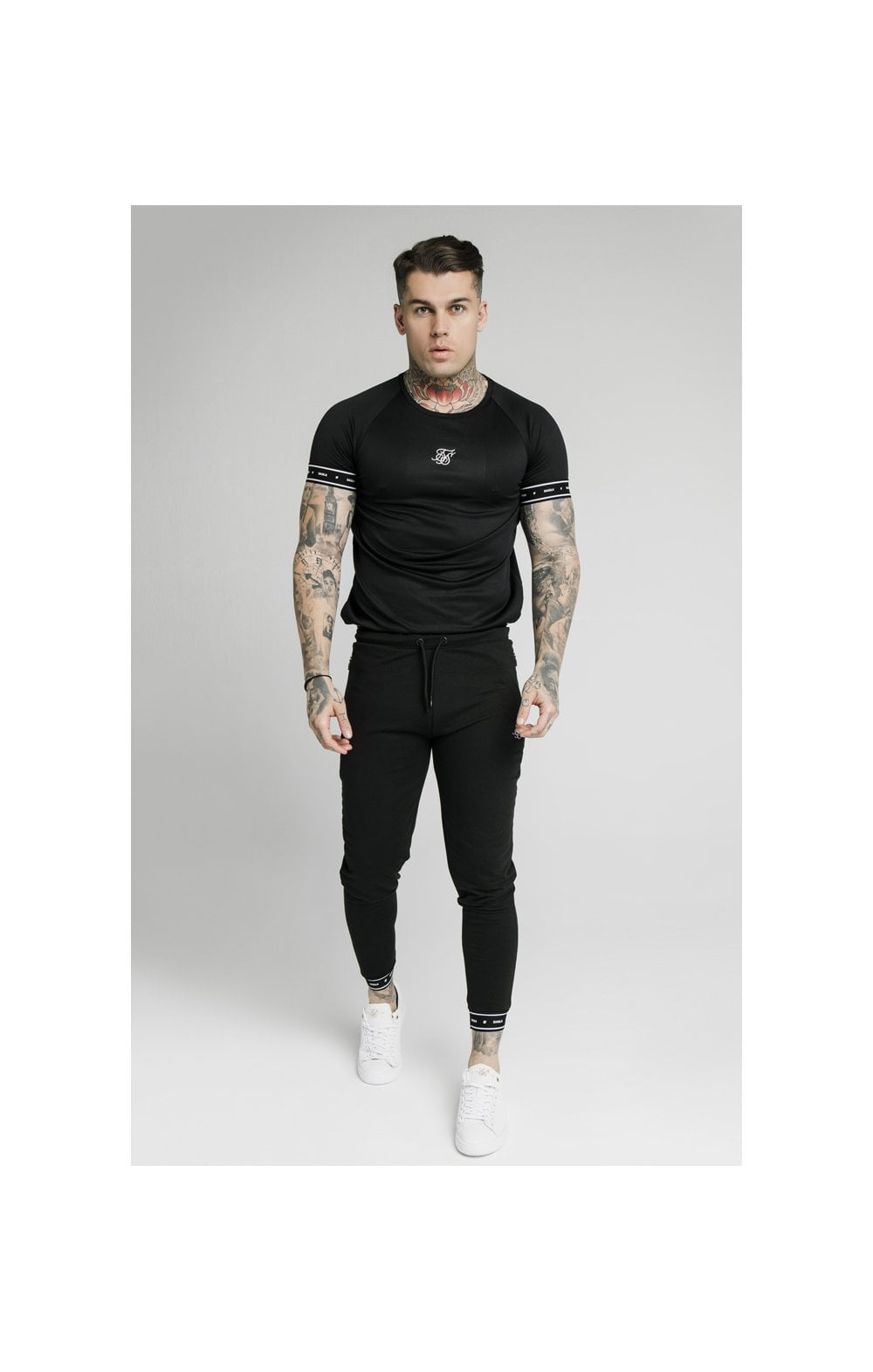 SikSilk Active Tech Tee - Black (3)