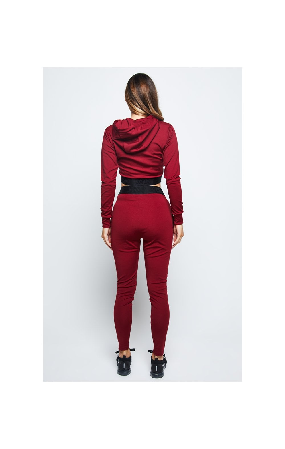 SikSilk Gym Track Top - Red (5)