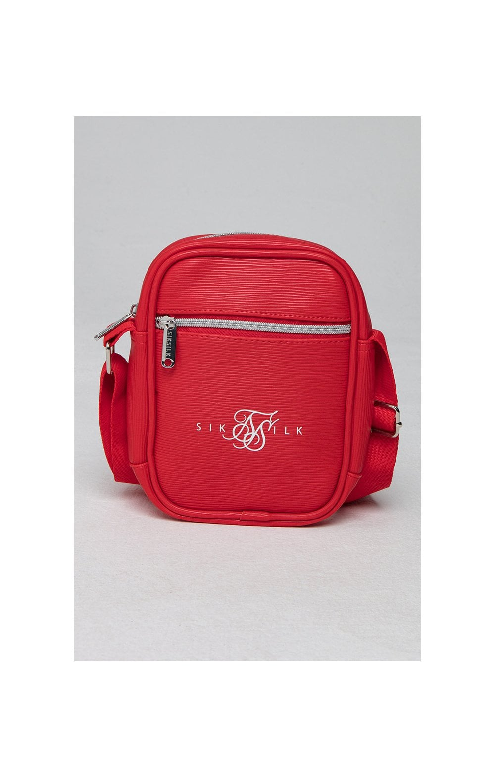 SikSilk Cross Body Bag - Red