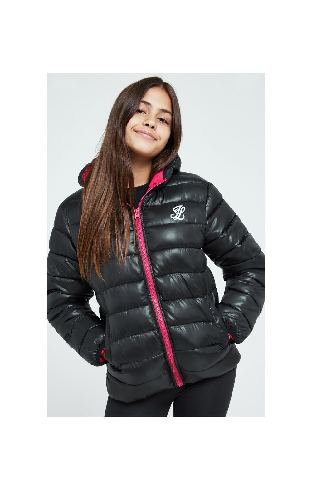 Illusive London Bubble Jacket - Black (1)