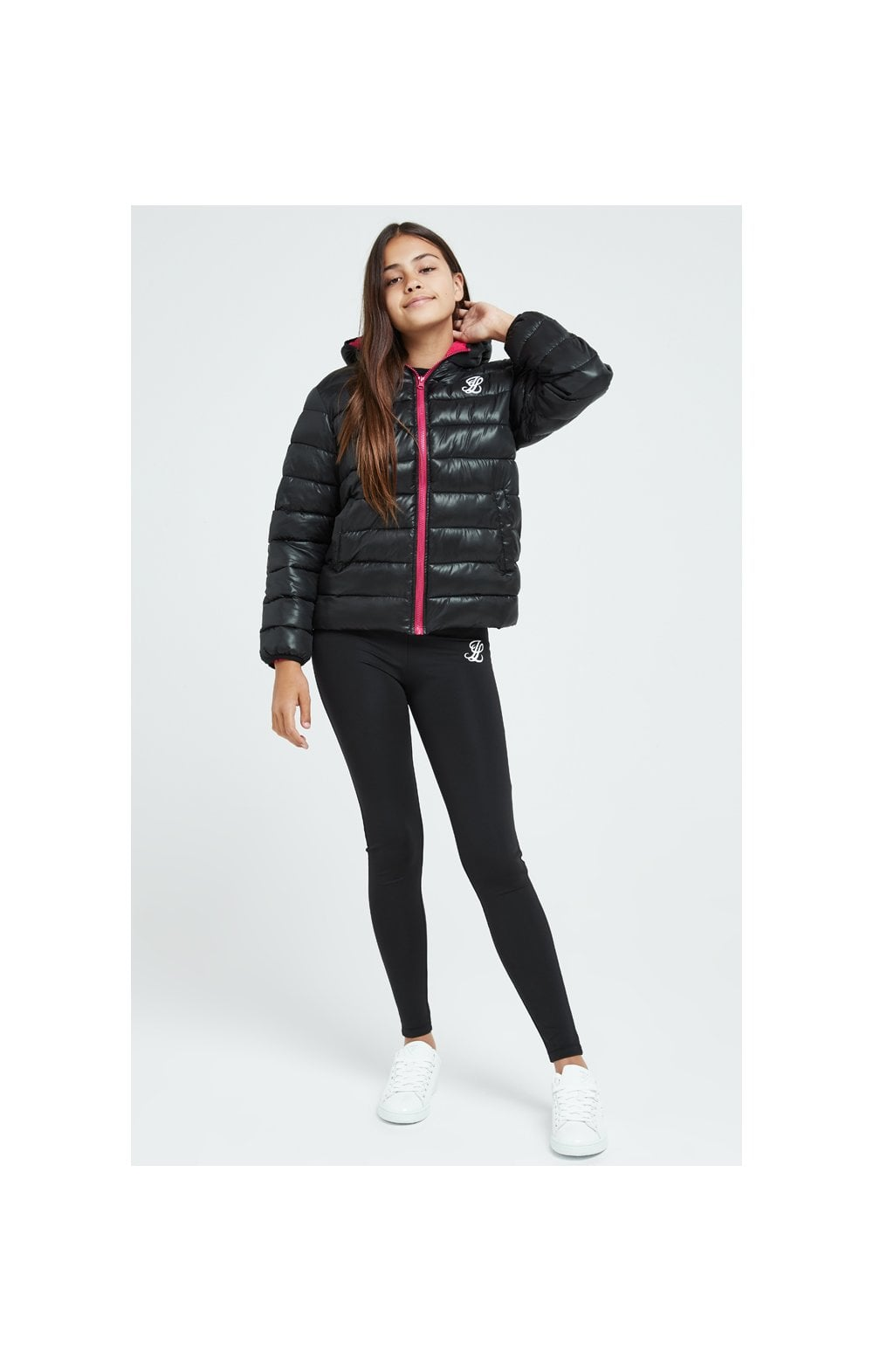 Illusive London Bubble Jacket - Black (2)