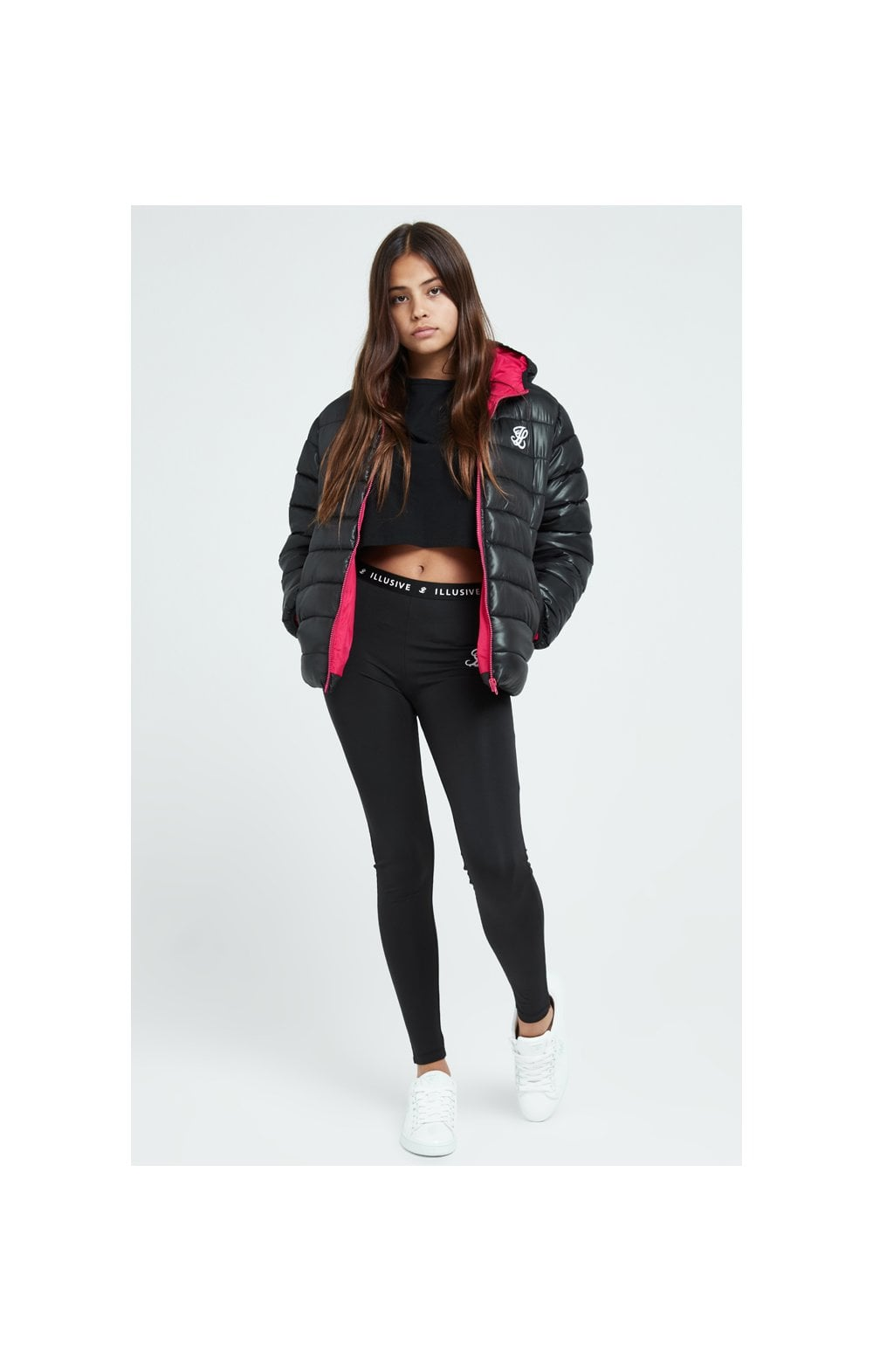 Illusive London Bubble Jacket - Black (5)