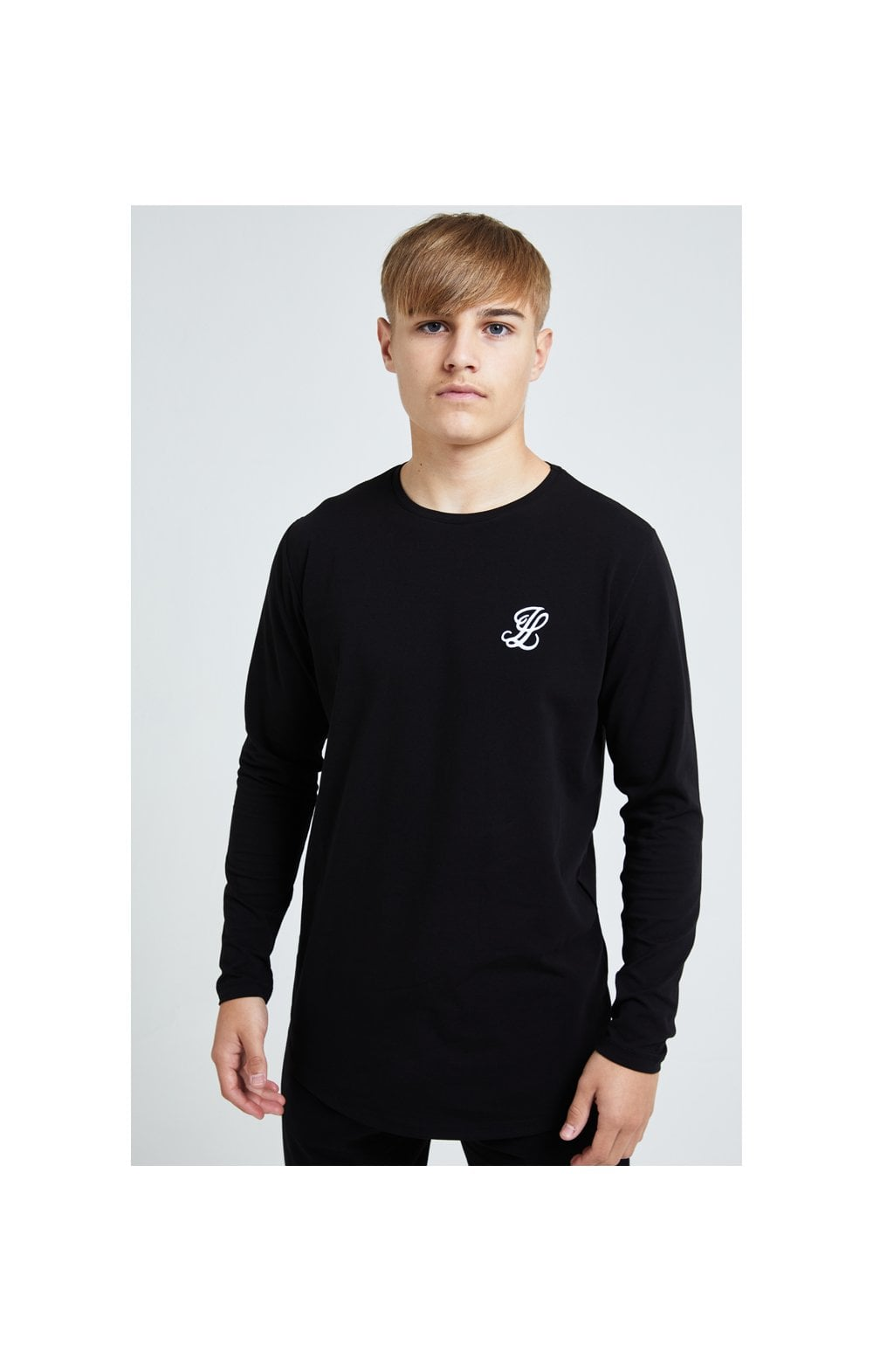 Illusive London L/S Core Tee - Black