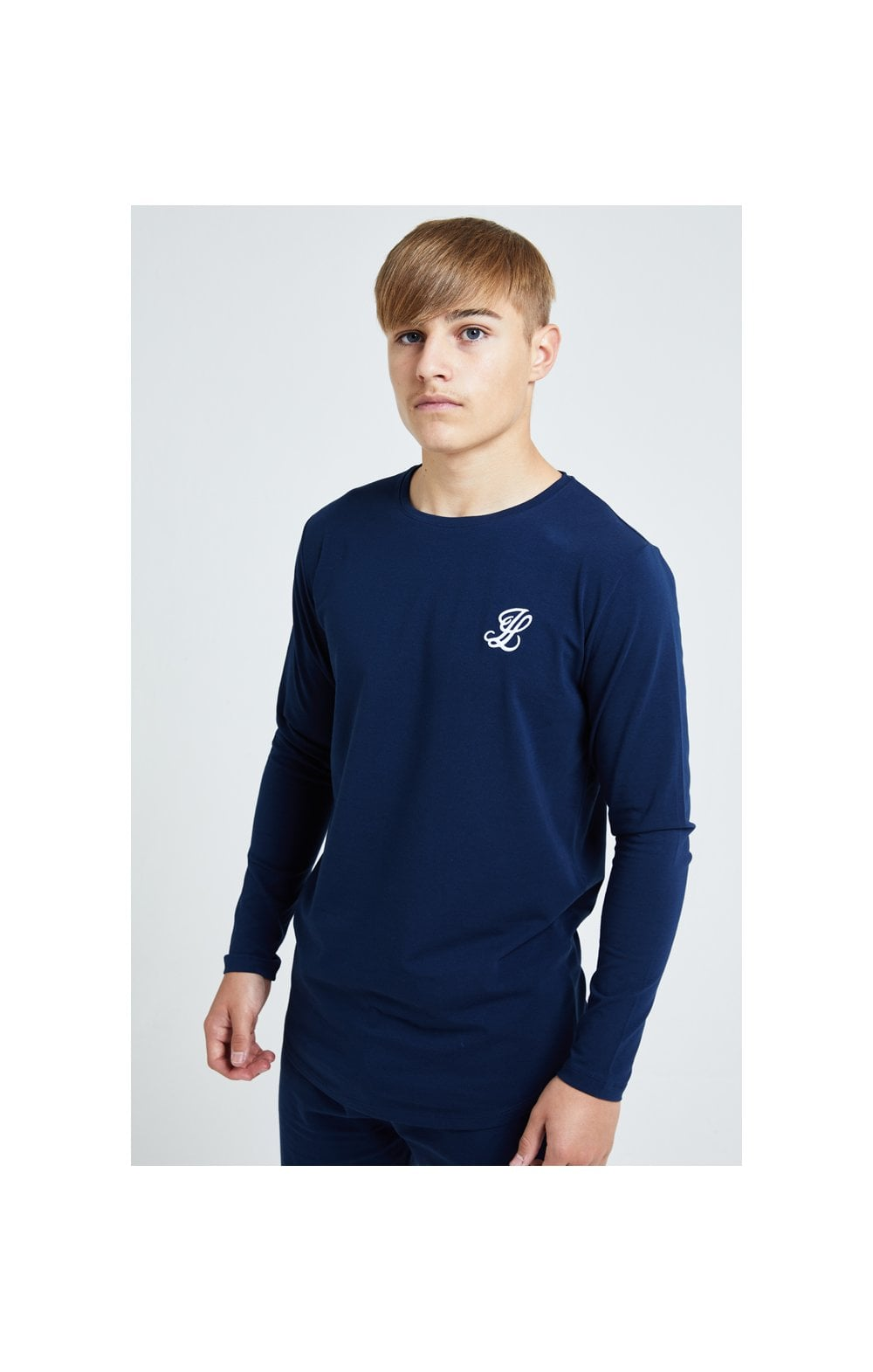 Illusive London L/S Core Tee - Navy